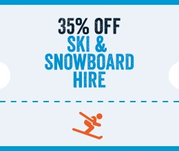 35% Off Ski Hire in Arinsal